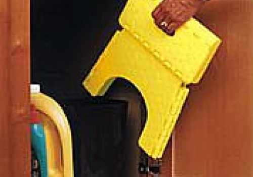 E-Z Folding RV Step Stool Yellow, B & R Plastics,Inc. 101-6Y