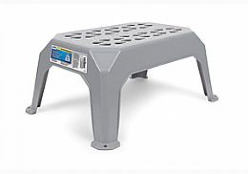 Small Plastic Step Stool Gray, Camco 43460
